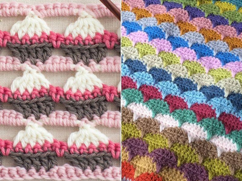 Delightful Crochet Stitches Free Patterns