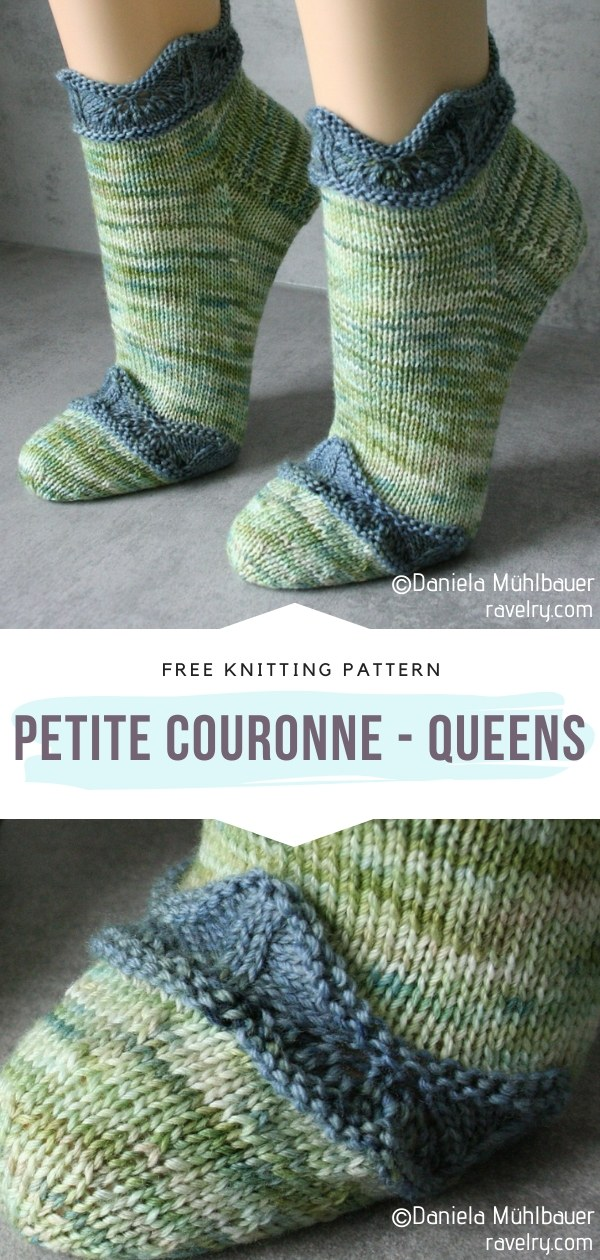 Petite couronne - Queens Knit Socks