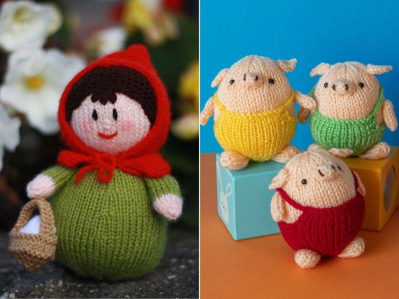 Fairy Tale Knitted Amigurumi Free Patterns