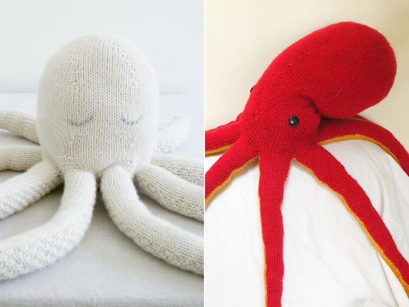 Large Knitted Octopus Ideas Free Patterns