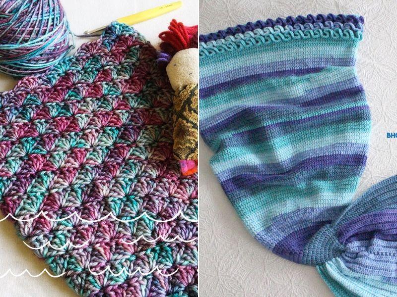 Mermaid Tail Ideas Free Crochet Patterns