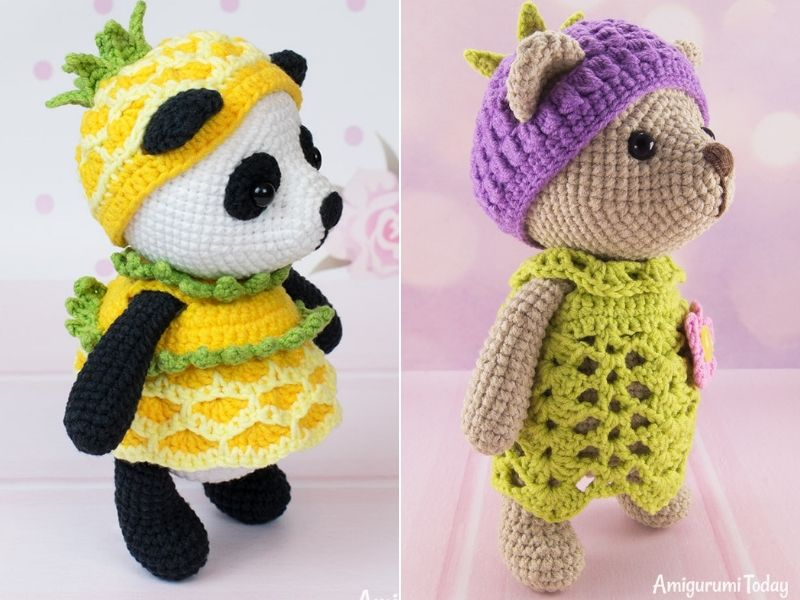 Sweet Amigurumi Bear Ideas Free Crochet Patterns