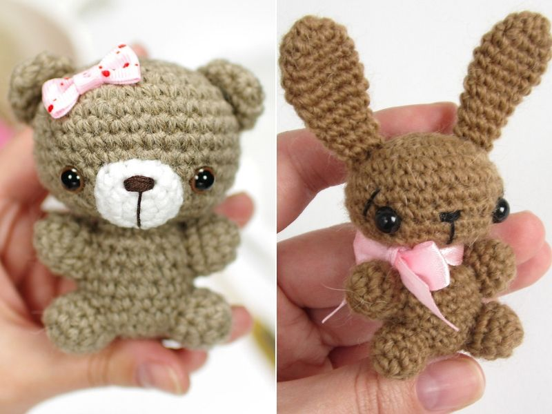 Tiny Amigurumi Ideas Free Crochet Patterns