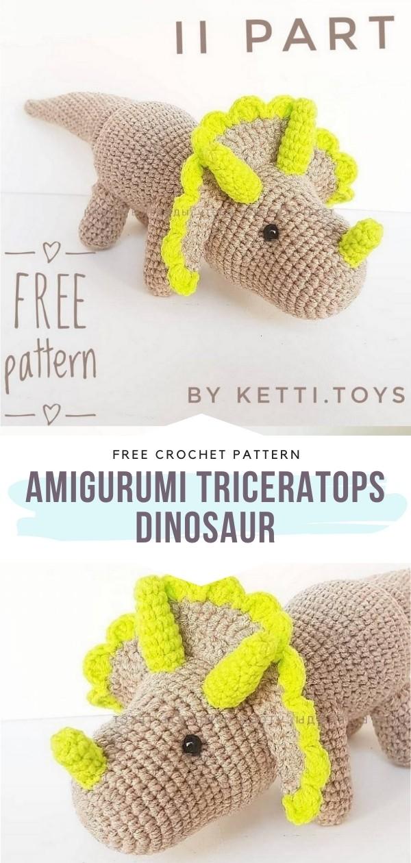 Amigurumi Dinosaur