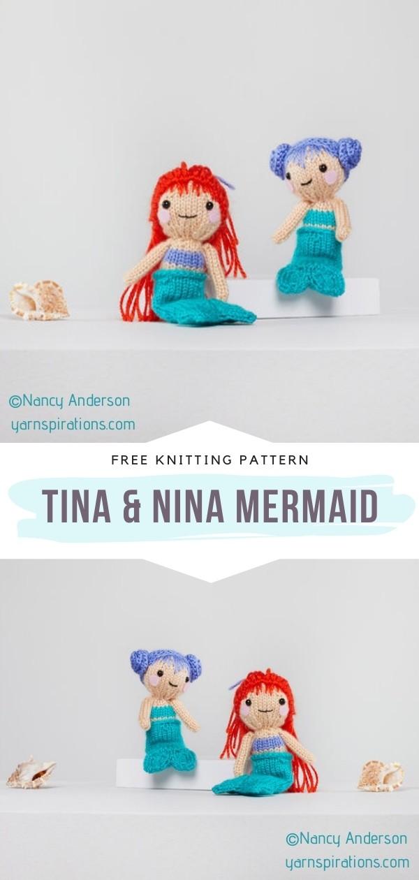 Knit Softie Mermaid