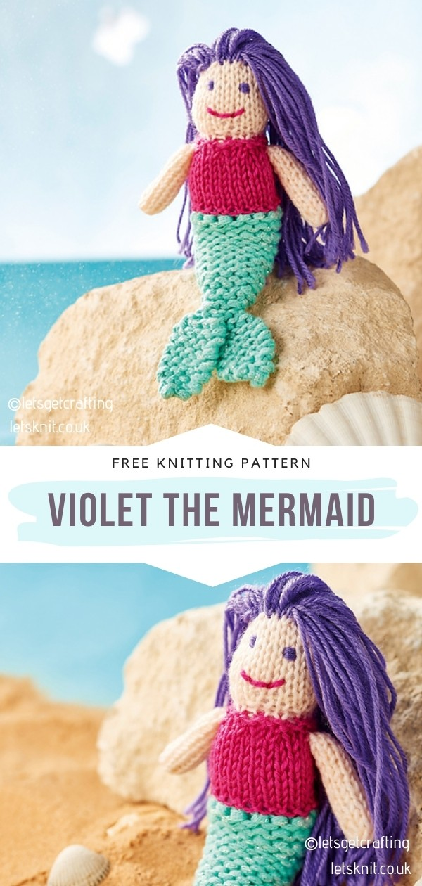 Knit Mermaid Softie