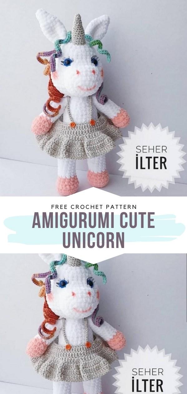 Amigurumi Cute Unicorn