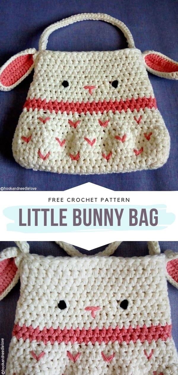 Little Bunny Bag Free Crochet Pattern