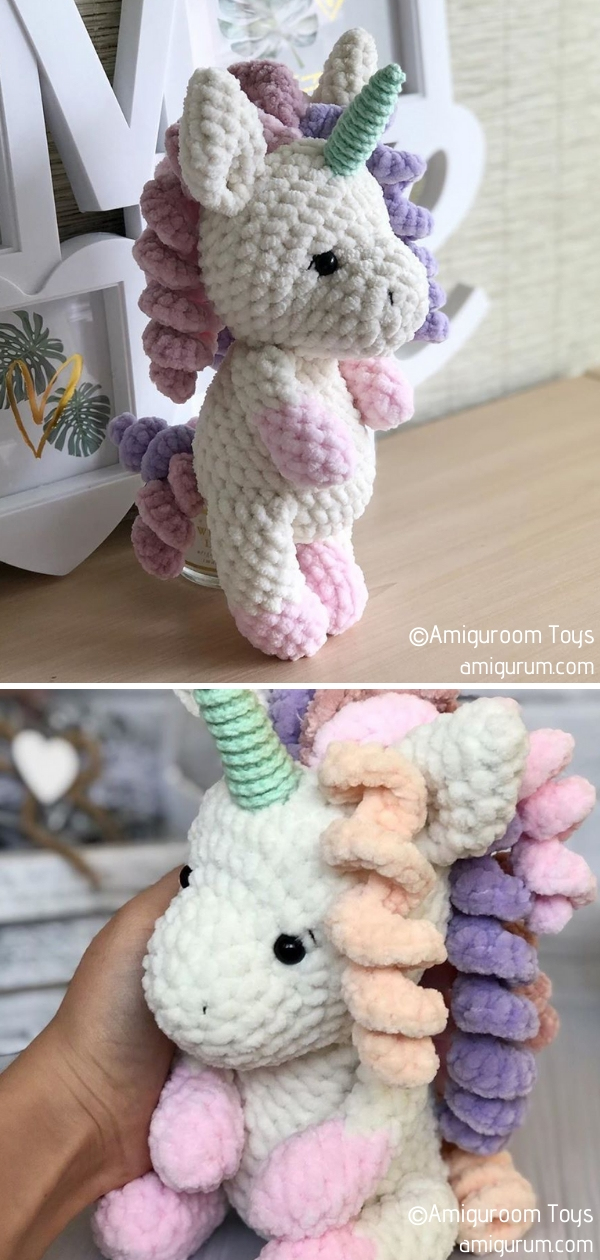 Plush Unicorn Amigurumi