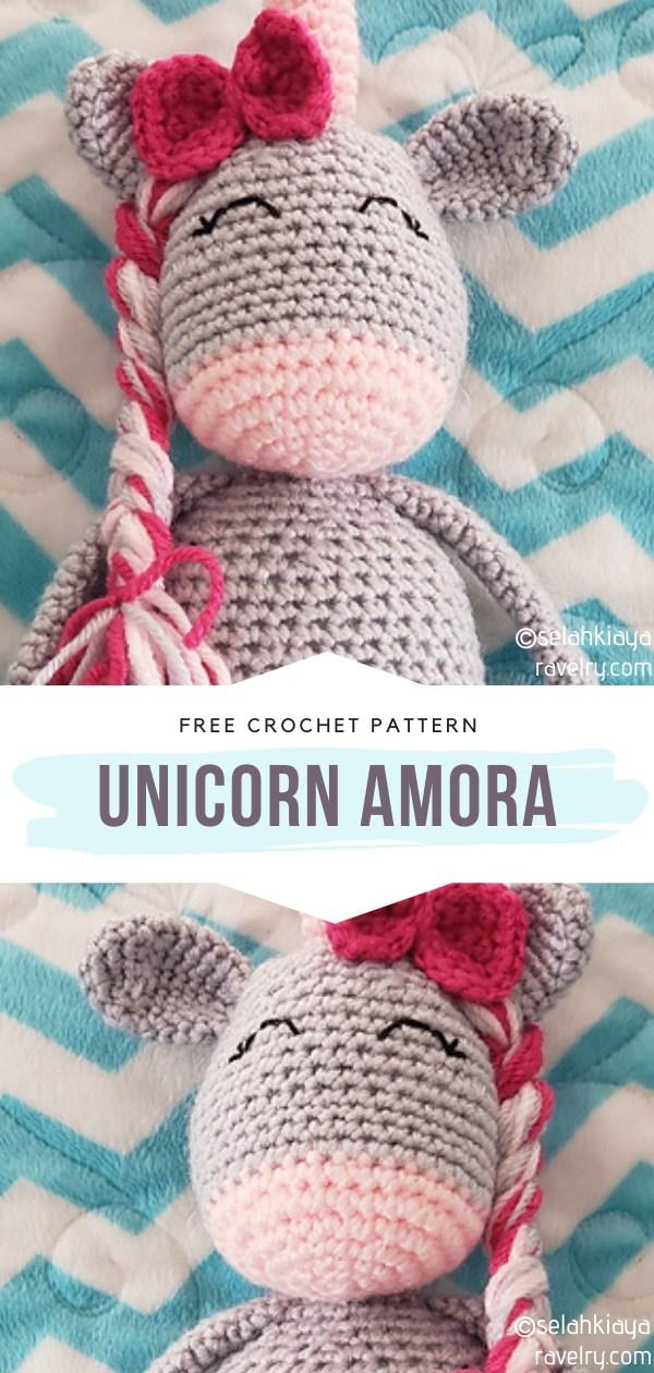 Amigurumi Unicorn Amora