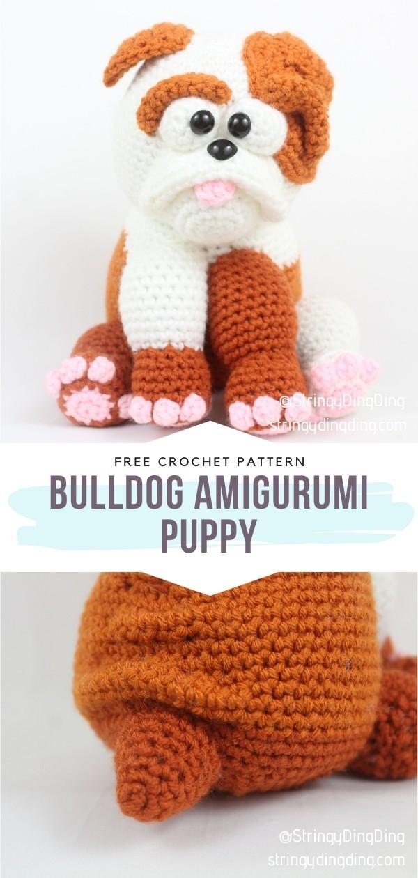 Bulldog Amigurumi