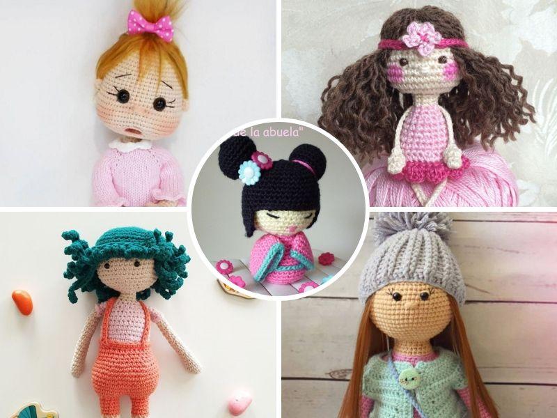 Adorable Crochet Dolls