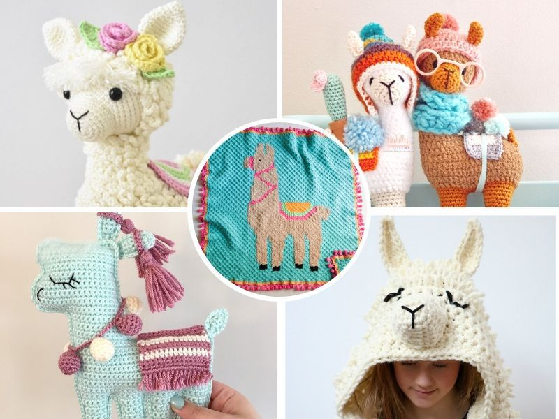 Adorable Crochet LLamas