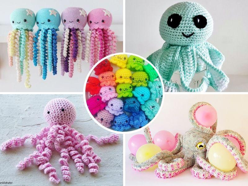 Amazing Crochet Octopuses