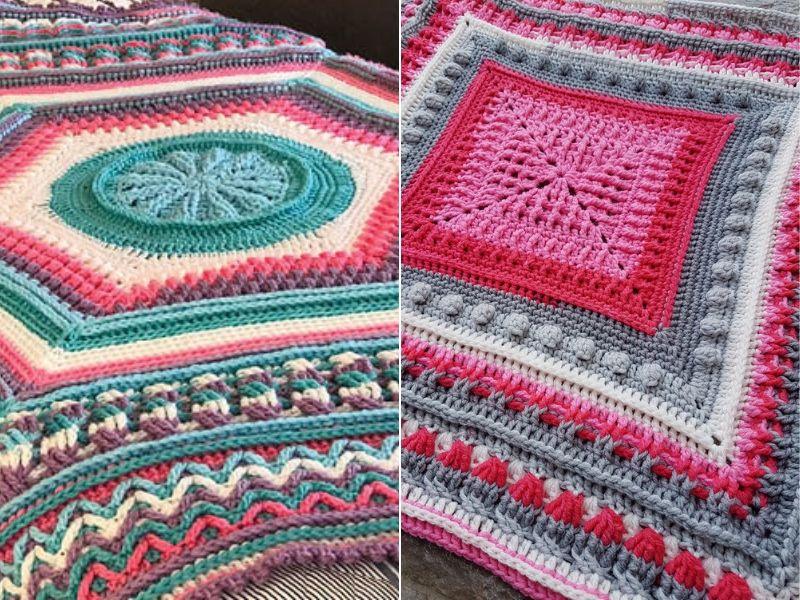 Beautiful Blanket CALs Free Crochet Patterns