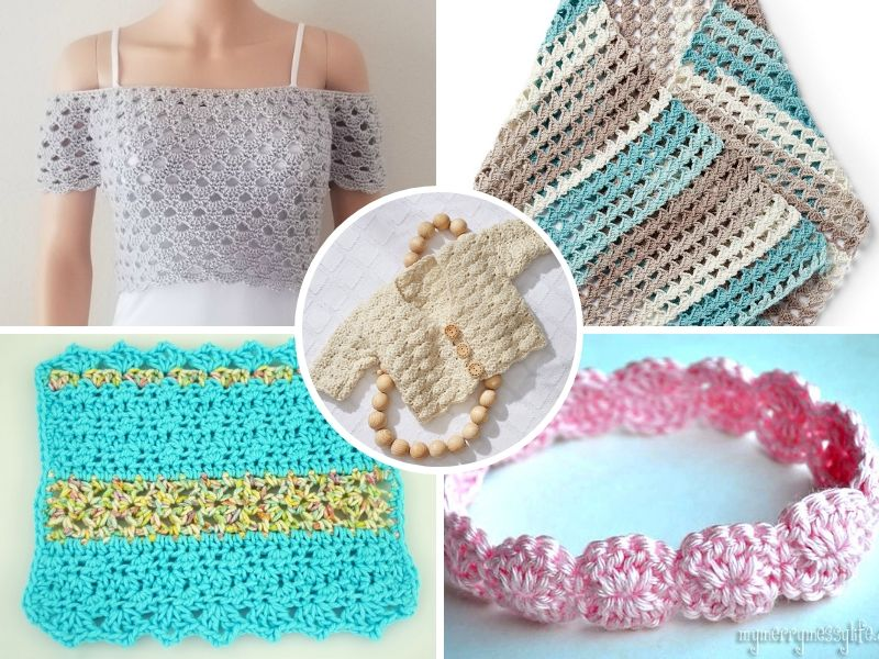 Beautiful Shell Stitch Ideas