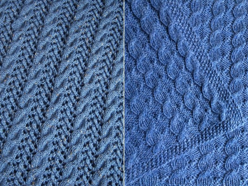 Cable Knitted Baby Blankets