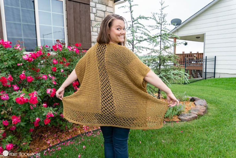 Come On I Wanna Ruana Free Crochet Pattern