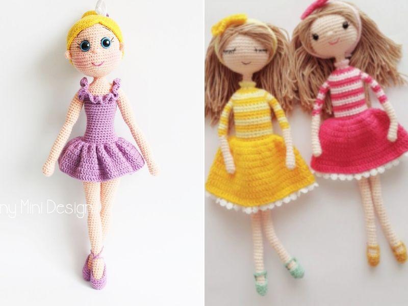 Cute Crochet Dolls Free Patterns