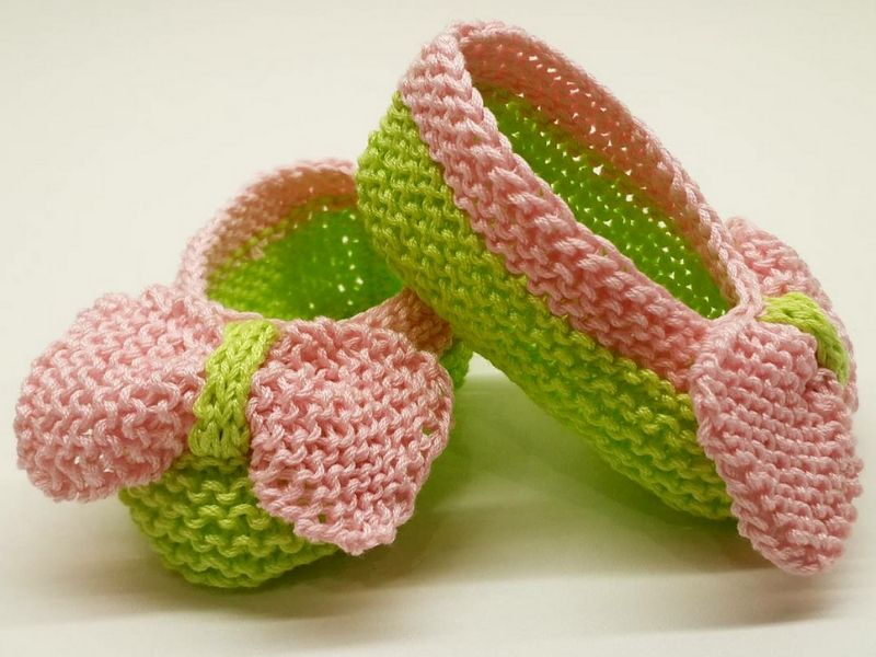 Cute Knitted Baby Booties Free Patterns