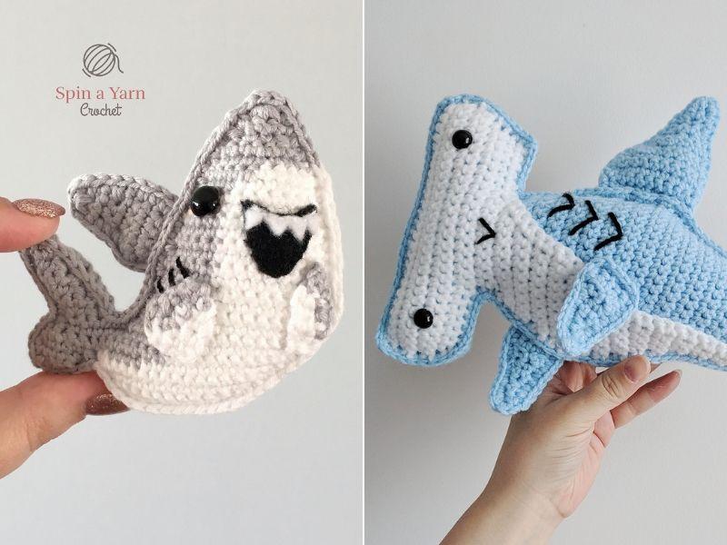 Cute Shark Amigurumi Free Crochet Patterns