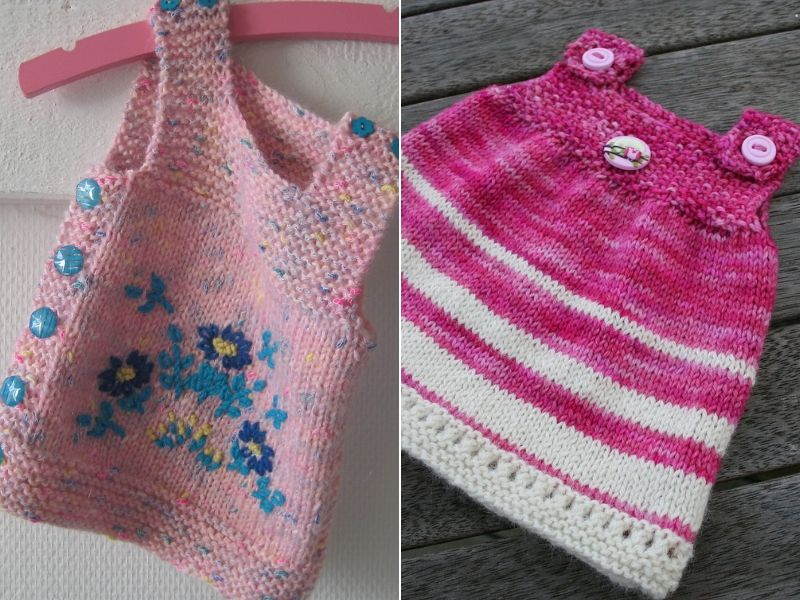 Easy Knitted Baby Tops Free Patterns