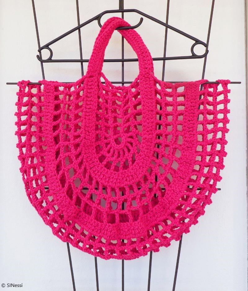 Nonstop Chunky Net Crochet Pattern