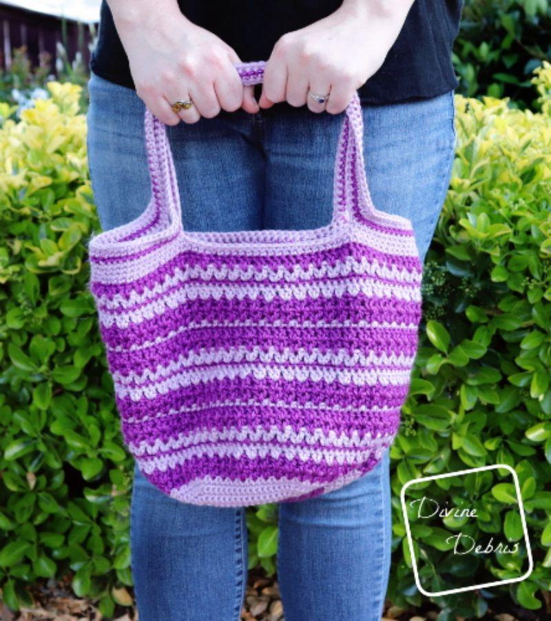 Mary Market Tote Bag Free Crochet Pattern