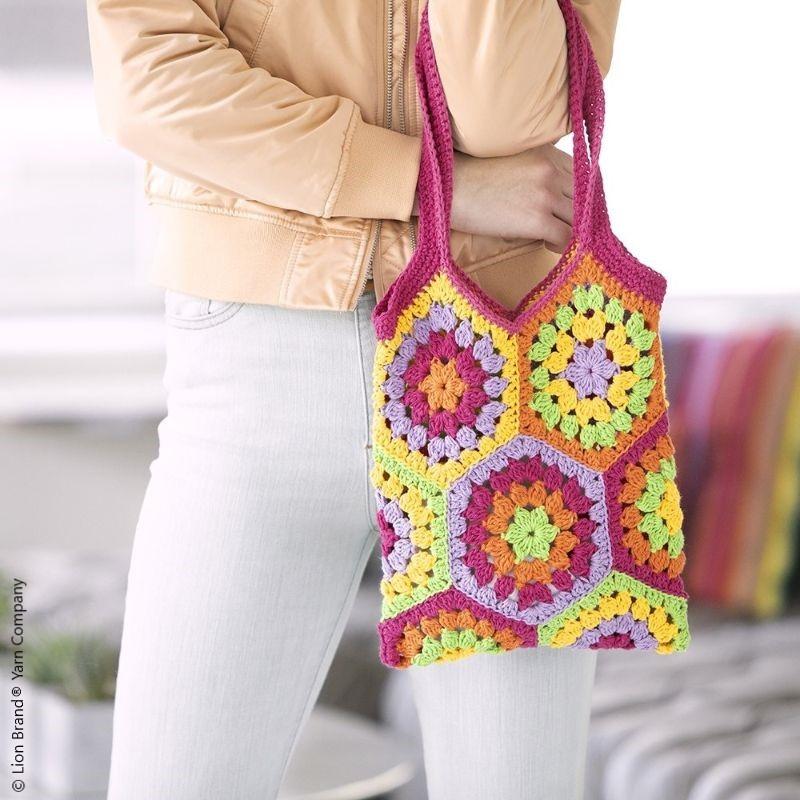 Kaye Market Bag Free Crochet Pattern