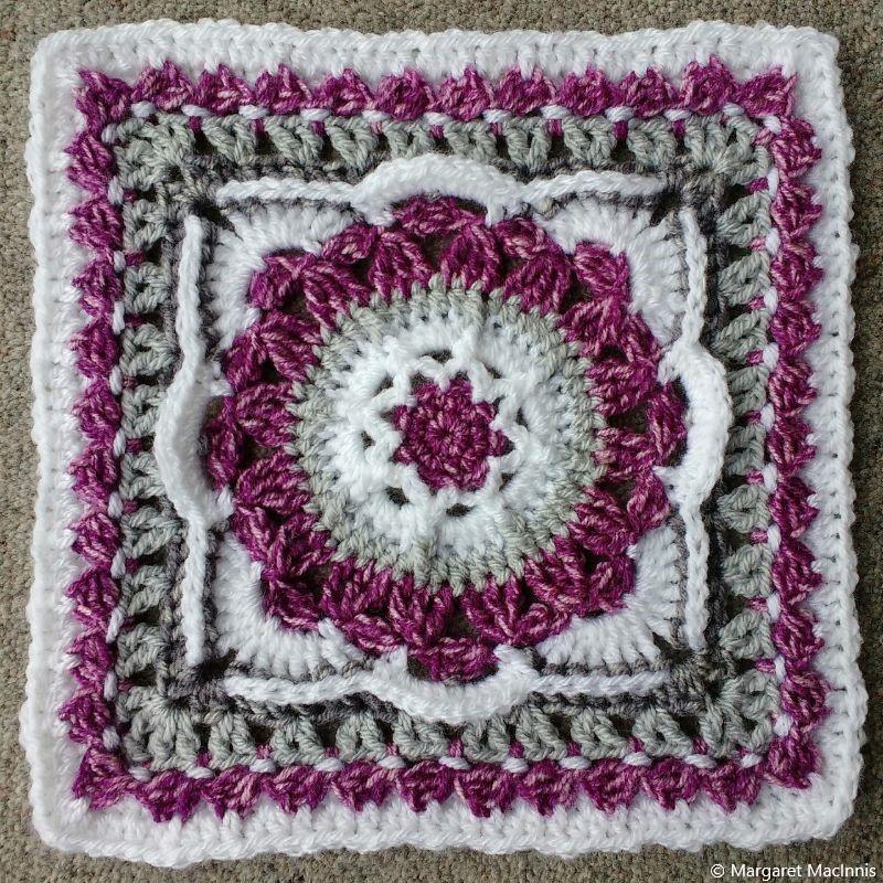 Crochet Block Square