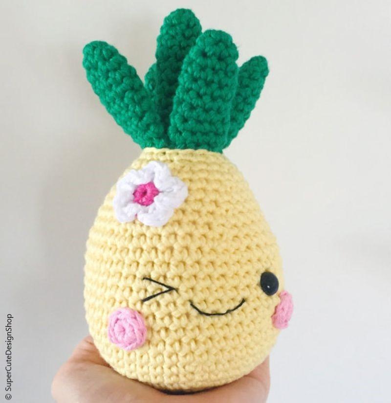 Pineapple Amigurumi