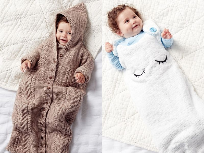 Knitted Sleep Bag Ideas Free Patterns