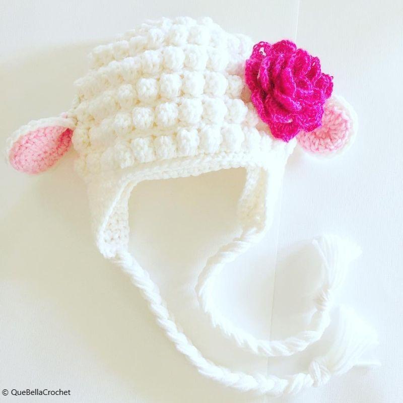 Lamb Hat Free Crochet Pattern