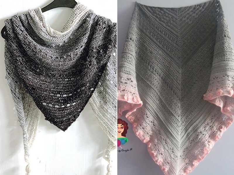 Lightweight Crochet Shawls Free Patterns