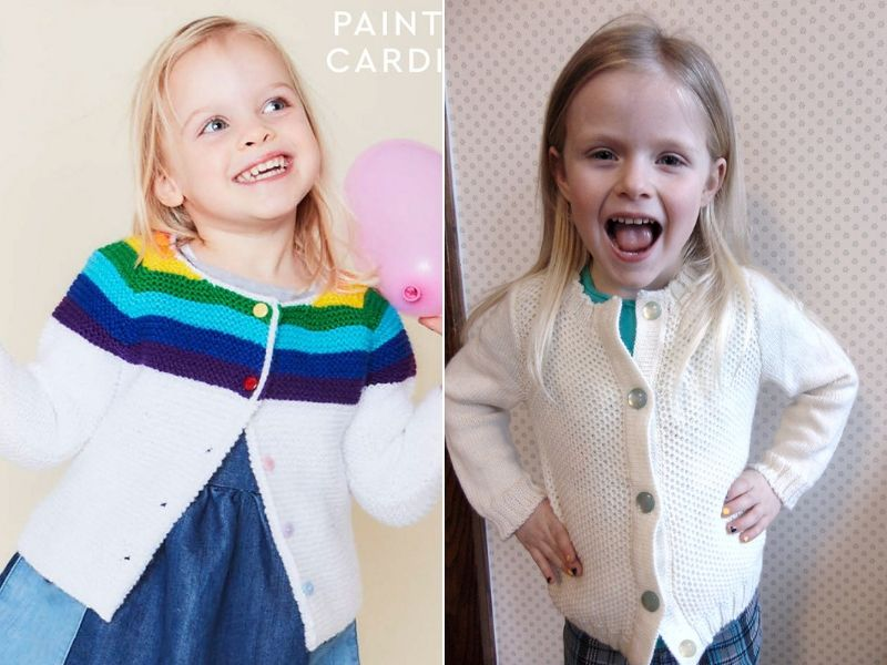 Simple Knitted Cardigans Free Patterns