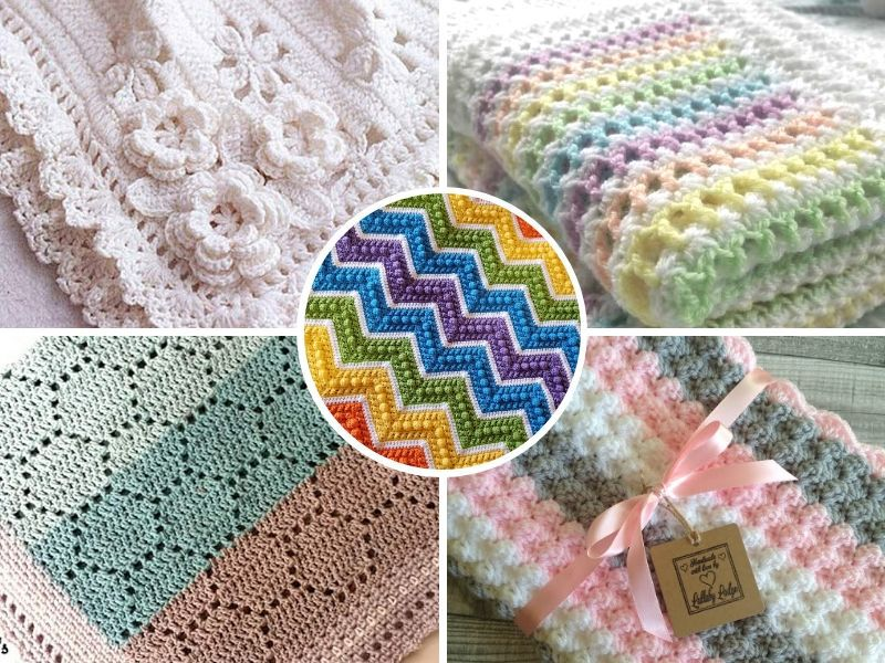 Soft and Cozy Baby Blankets Free Crochet Patterns