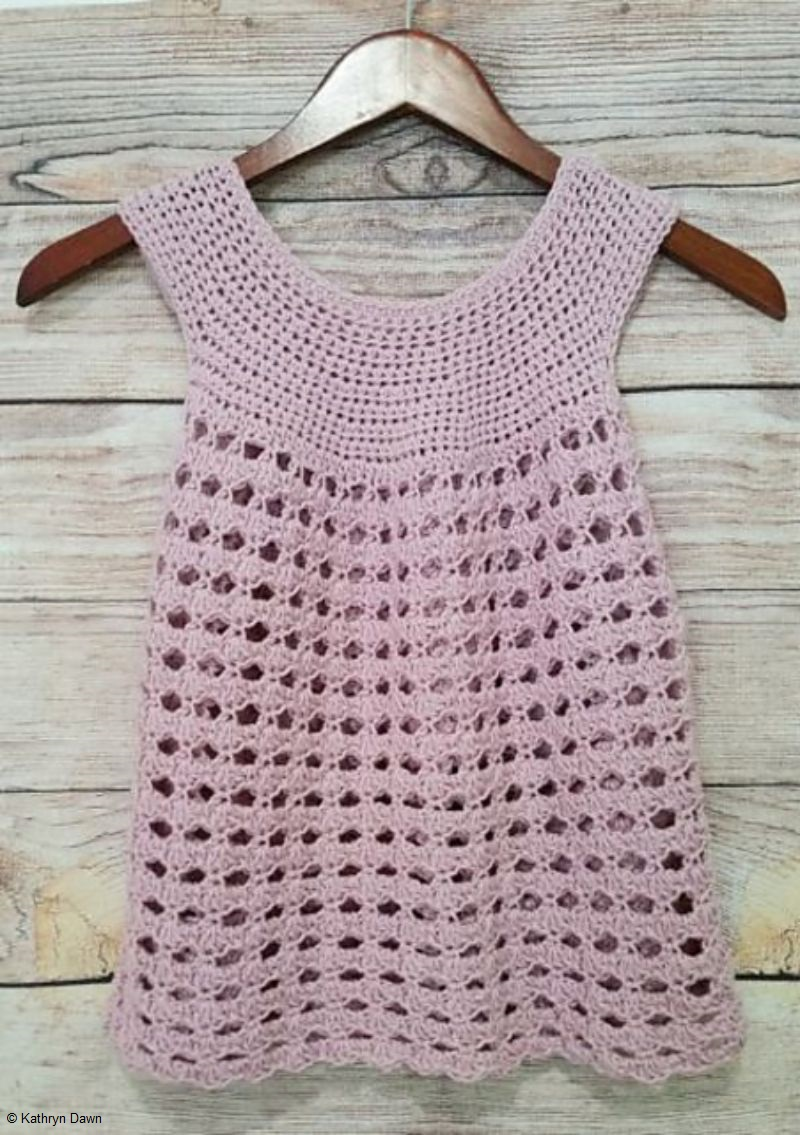 Pink Shells Top