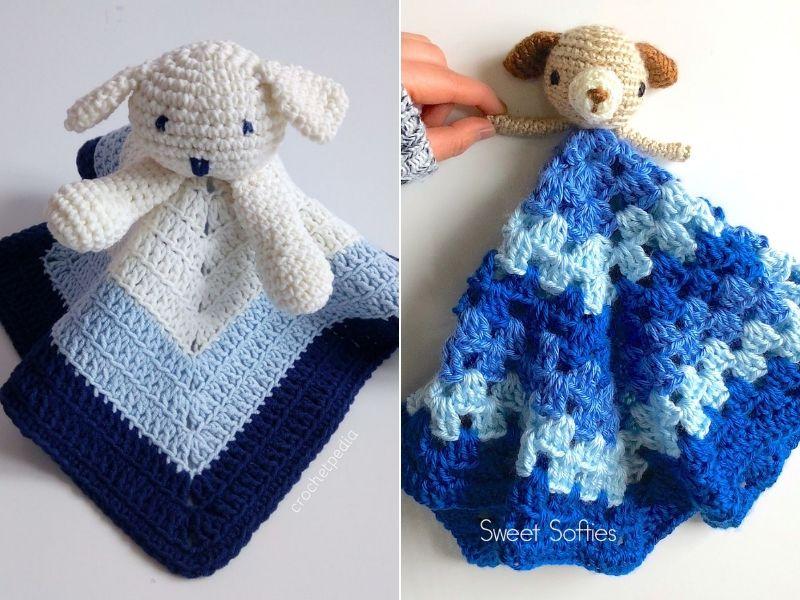Sweet Puppy Loveys Free Crochet Patterns