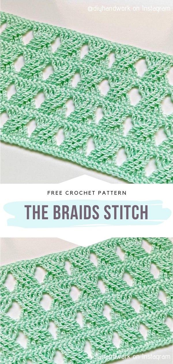 Braids Crochet Stitch
