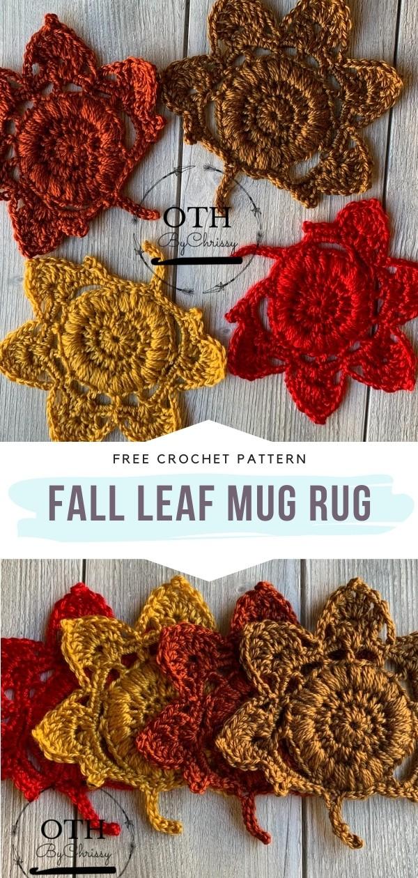 Leaf Mug Rug
