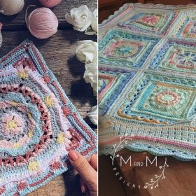 Marvelous Flower Squares with Free Crochet Patterns