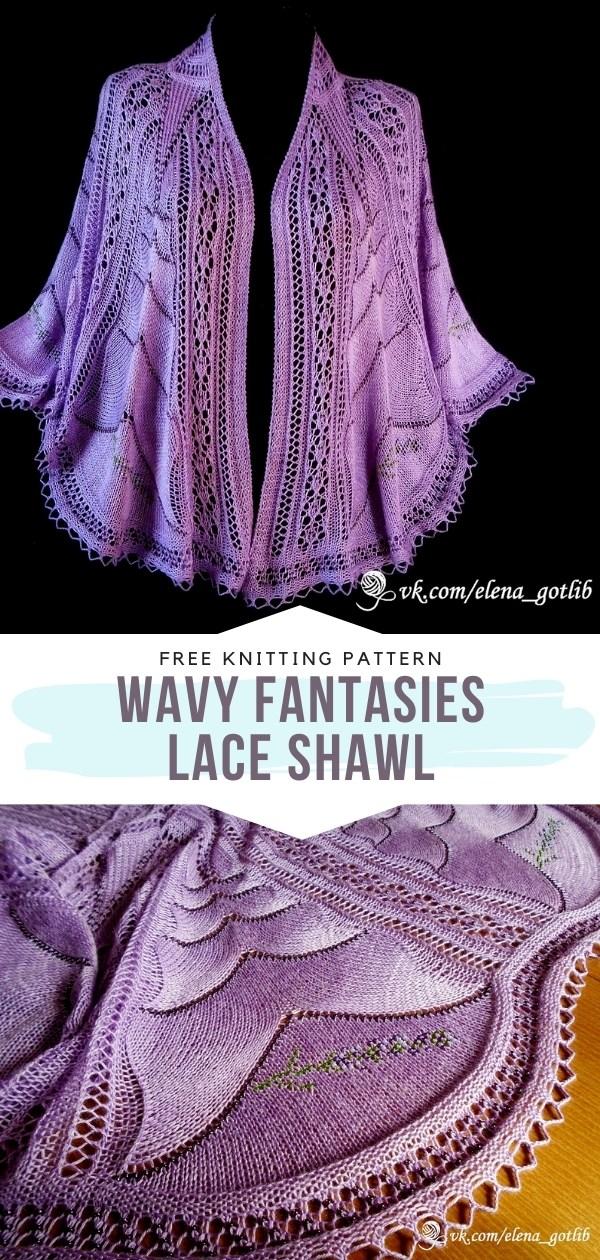 Lacy Knit Shawl