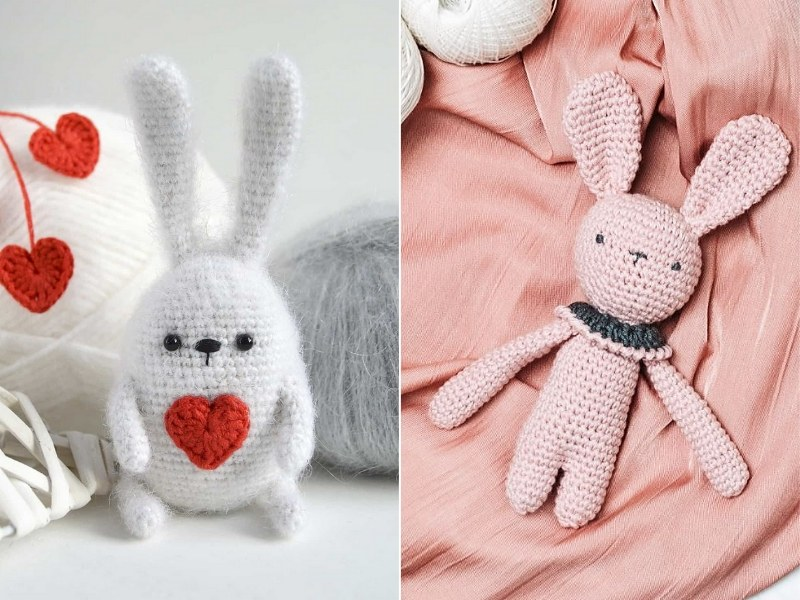 Adorable Bunny Amigurumi Free Crochet Patterns