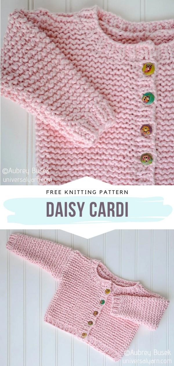 Knit Baby Cardi