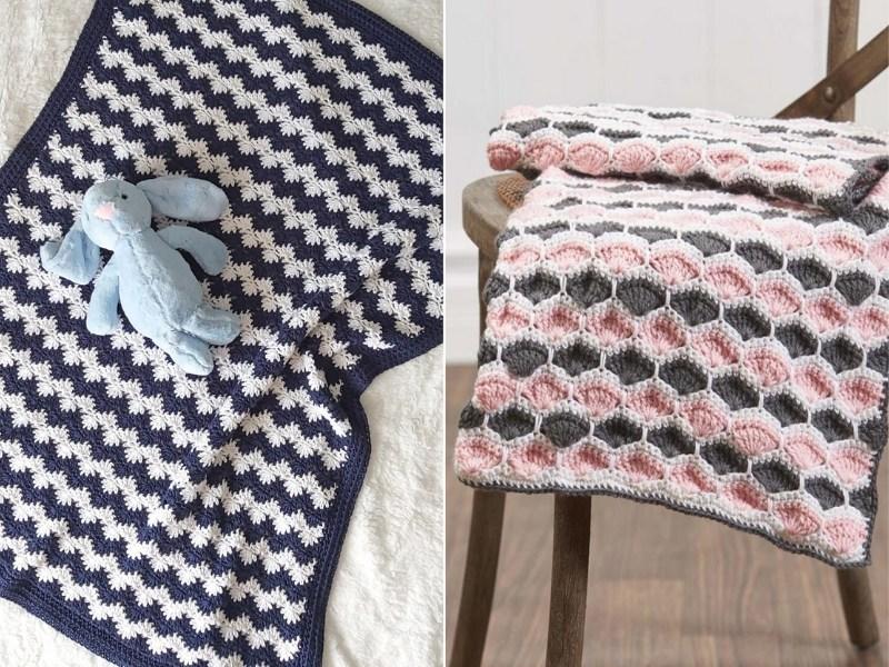 Delicate Shell Blankets Free Crochet Patterns