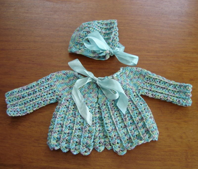 Doreen Baby Set Free Crochet Pattern