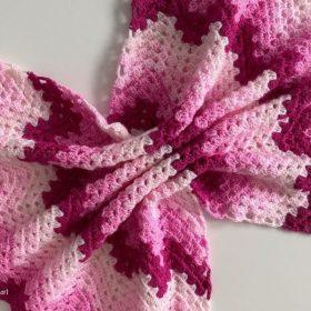 Granny Ripple Blanket Ideas and Free Crochet Patterns