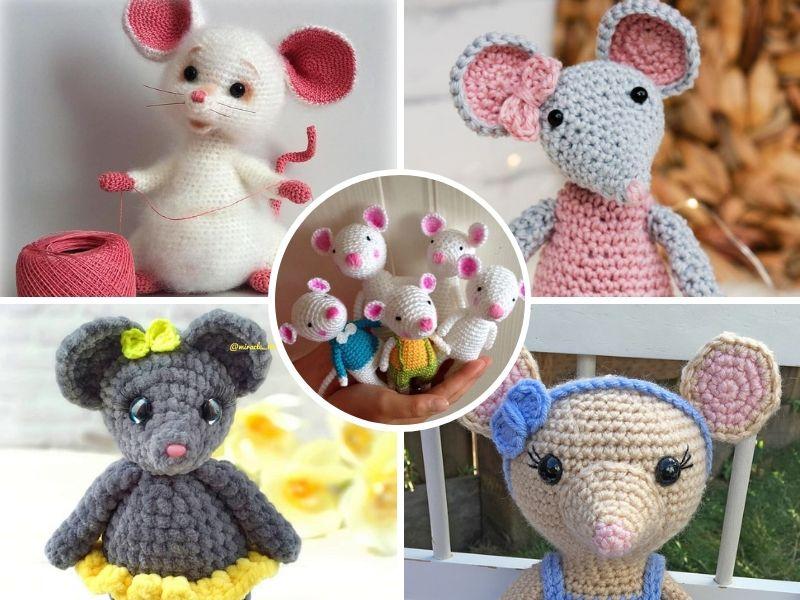 Adorable Amigurumi Mice