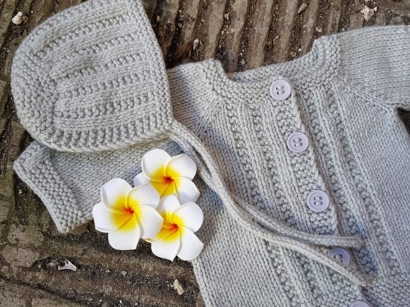 Adorable Knitted Baby Sets Free Patterns