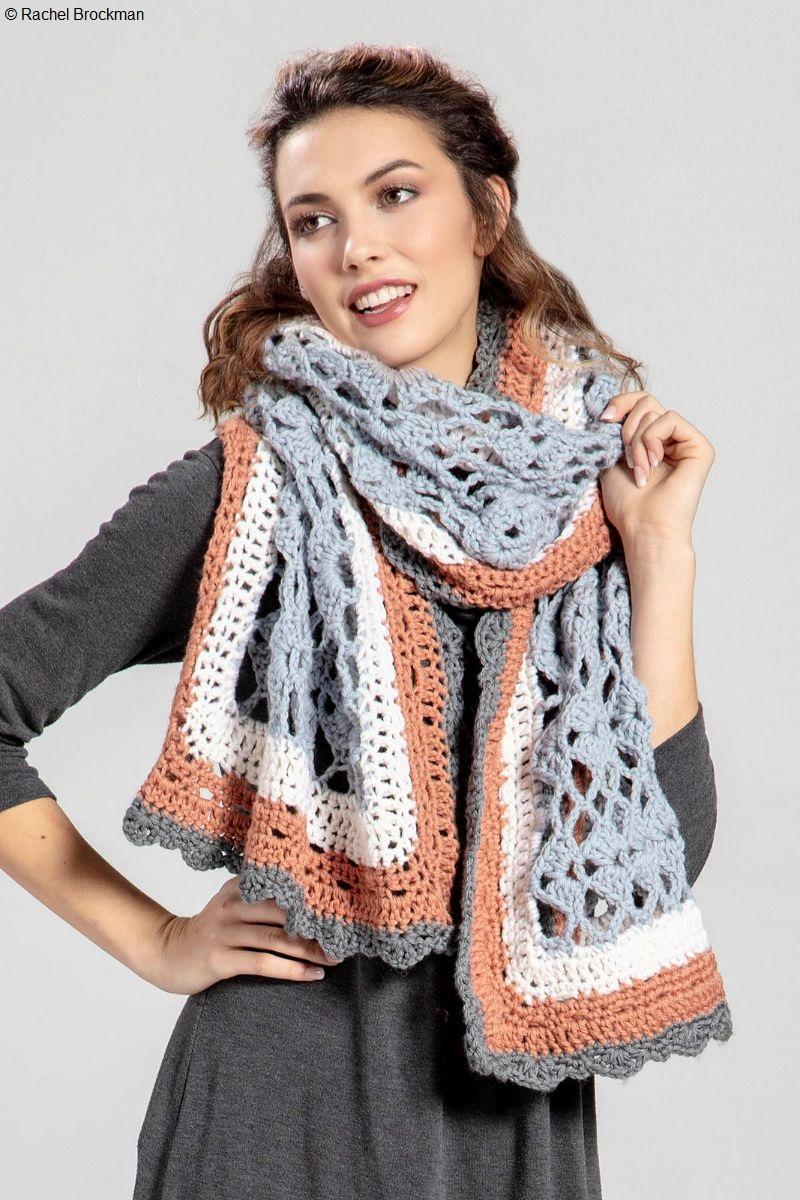 Alpine Wrap Free Crochet Pattern